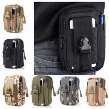 Tactical Military Molle Waist Bag Pack Portable Mini Bag Nylon Phone Wallet - $14.01