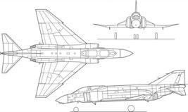 Vinteja charts of - ACS F-4 Phantom - A3 Poster Print - $22.99