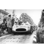 Vinteja Exhibit Poster - Mille Miglia 1955 - Stirling Moss - Mercedes Be... - $19.79
