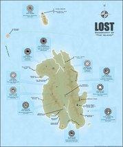 Vinteja charts of - LOST Map - A3 Poster Print - $22.99