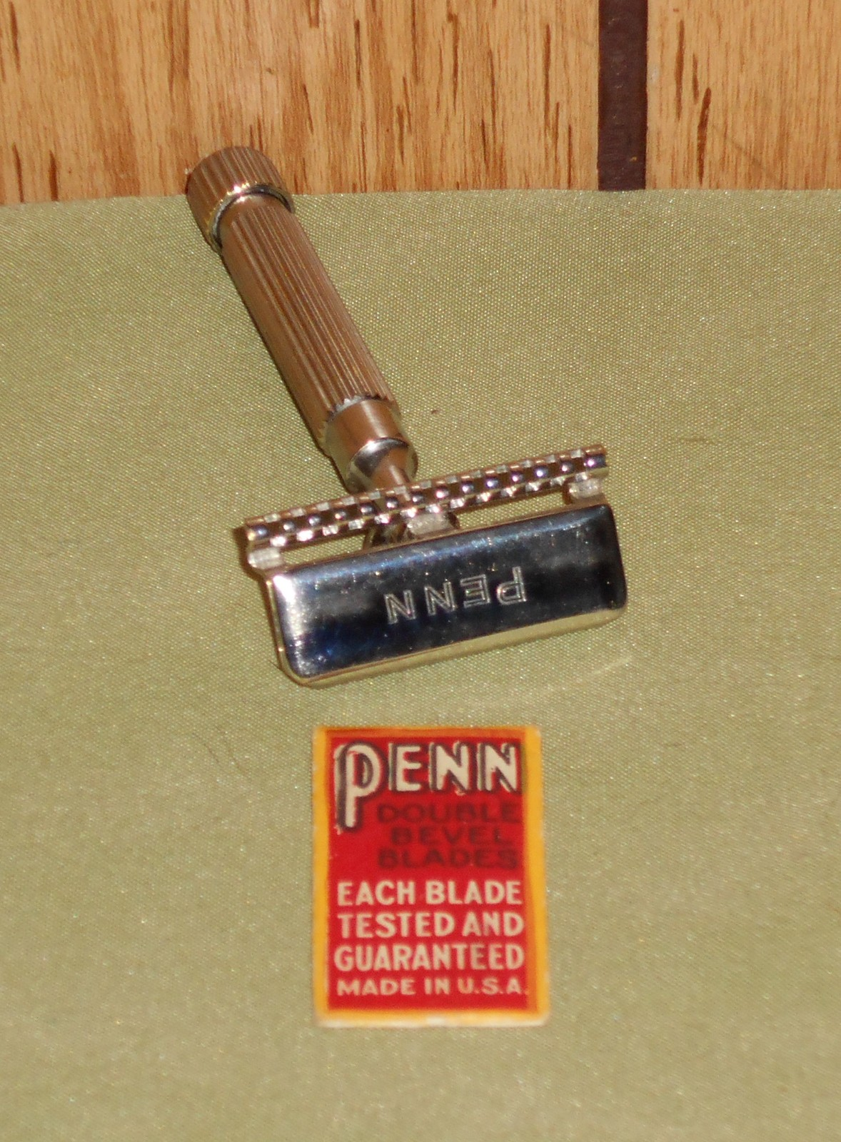 1914 penn non adjustable se razor no. 5 w blade  1