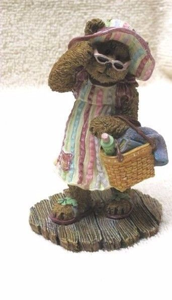"Boyds Bearstone""Sunnie Dae..Fun In the Sun"" Longaberger Exclusive-#2277932LB-NIB"