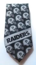 Oakland Raiders Tie Ralph Marlin 1987 Necktie F... - $15.99