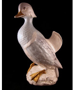 Asian Wood Duck Figurine Male by Giovanni Ronzan Italy 1980s - $307.39