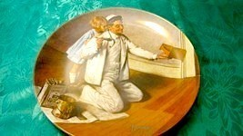 """The Painter"" Edwin M Knowels Collector Plate - $5.99"