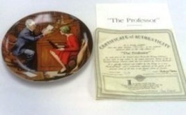 """The Professor "" Rockwell Heritage Collection 1986 - $5.99"