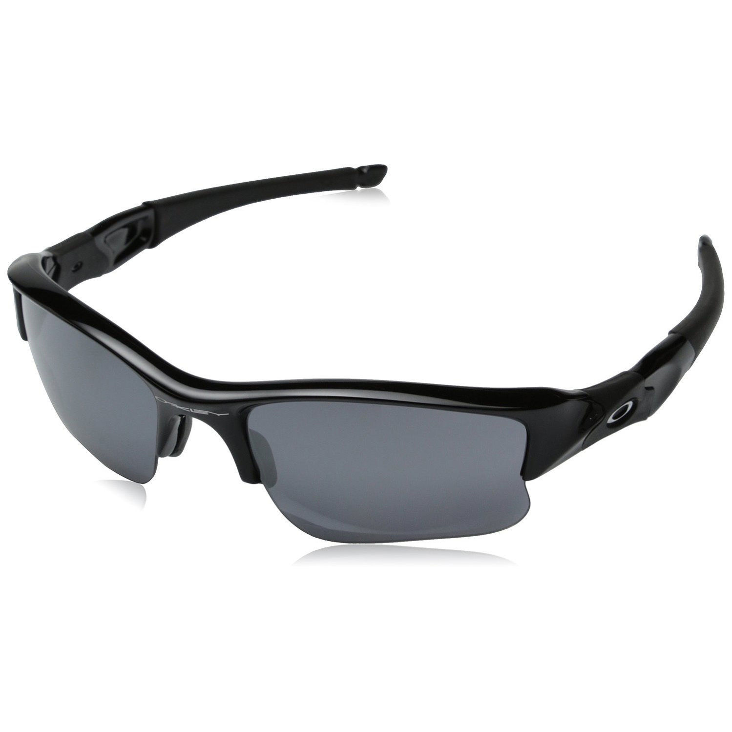 b4aed3c26d S l1600. S l1600. Oakley Flak Jacket XLJ Mens Sunglasses Jet Black Frame Black  Iridium Lens 03-915