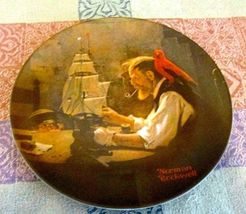 """The Ship Builder "" Rockwell Heritage Collection - $5.99"