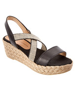 Patricia Green Erica Leather Wedge Sandal Size 7 NWB $165 - $98.01