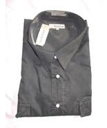 Foxfire 4X-T Black LS Western Snap Front Shirt New - $44.50