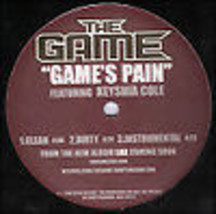 THE GAME - GAME'S PAIN 12inch VINYL RECORD - £4.58 GBP
