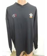 Southampton FC Saints Football Soccer Black Long-Sleeve Jersey Mens 2XL - $47.53