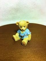 Cherished Teddies Adler 2015 Member Figurine  SIGNED  NIB - $34.60
