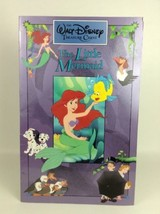 "Vintage 1991 Disney Treasure Chest The little Mermaid LG 11"" x 17"" Pictu... - $21.73"