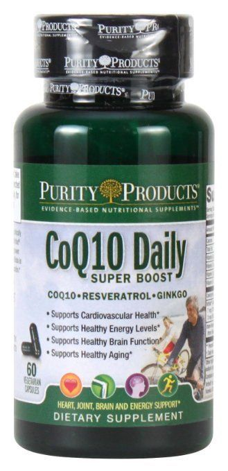Purity Products - CoQ10 Daily Super Boost with Gingko