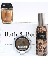 Bath and Body Works Peppered Suede Room Spray, Scentportable & Suede Poc... - $23.27