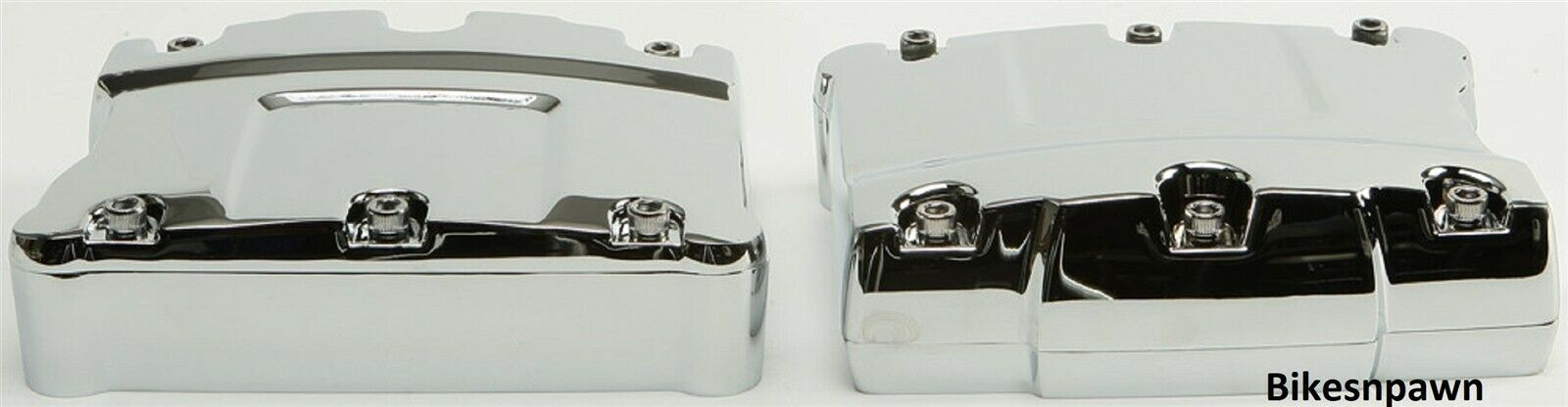New Chrome Rocker Box Cover Set for 1999-2017 Twin Cam Harley Big Twins