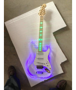 Crystal Body with LED Light, 22F LP Acrylic Electric Guitar - $995.00