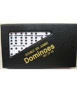 dominoes dominos Double 6 Tournament Size White... - $21.95