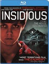 Insidious (Blu-ray Disc, 2011) New
