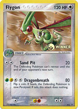 Flygon # 025 WINNER Nintendo Black Star Promo Pokemon Cards NM/MT - $9.98