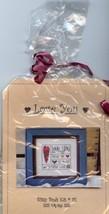 Love You Forever For Always Bitty Buds #01 4 My Boys Cross Stitch Kit NIP - $17.97