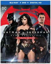Batman V Superman: Dawn Of Justice (With DVD, Ultraviolet Digital Copy, 2PC)