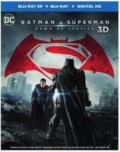 Batman V Superman: Dawn Of Justice (Blu-ray 3D, Digital Copy, 2PC)
