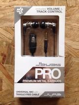 NEW JLabs JBuds Pro Premium Metal Earbuds w/Universal Mic,no tangle (Tit... - $9.49