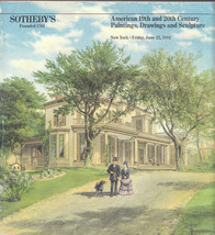 1984 Sotheby's Auction Catalog American 19th, 20th Century Paintings, Sc... - $12.50