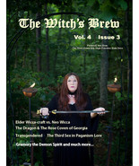 The Witch's Brew, Vol 4, Issue 3 (Pagan Magazine July, August, Sept. 2016) - $3.95
