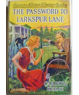 Nancy Drew mystery #10 THE PASSWORD TO LARKSPUR LANE hcdj 1941A-17 VG+ K... - $100.00