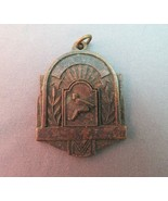 Vintage Sports Metal Broad Jump 3rd Place Marked 1956 Memorabilia Pendan... - $11.87