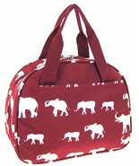 Elephant Print Insulated Lunch Bag Tote Alabama... - $20.99