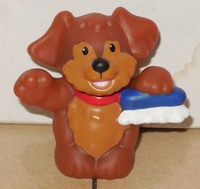 Fisher Price Current Little People Dog Puppy Brown FPLP Animal Pet - $5.90