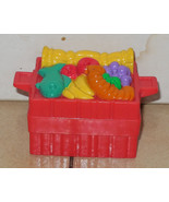 Fisher Price Current Little People Food Basket FPLP Accessory - $5.90
