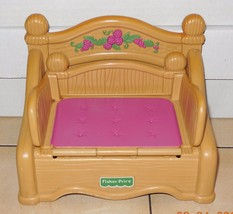 fisher price briarberry Collection Fold Out Bed Rare HTF - $23.38