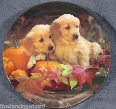 GOLDEN HARVEST Collector Plate Two's Company Sh... - $33.00