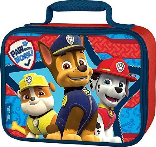 Thermos Soft Lunch Kit, Paw Patrol Reusable Padded Carrying Handle 100% PVC Free