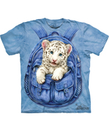 Backpack white tiger t shirt2 thumbtall
