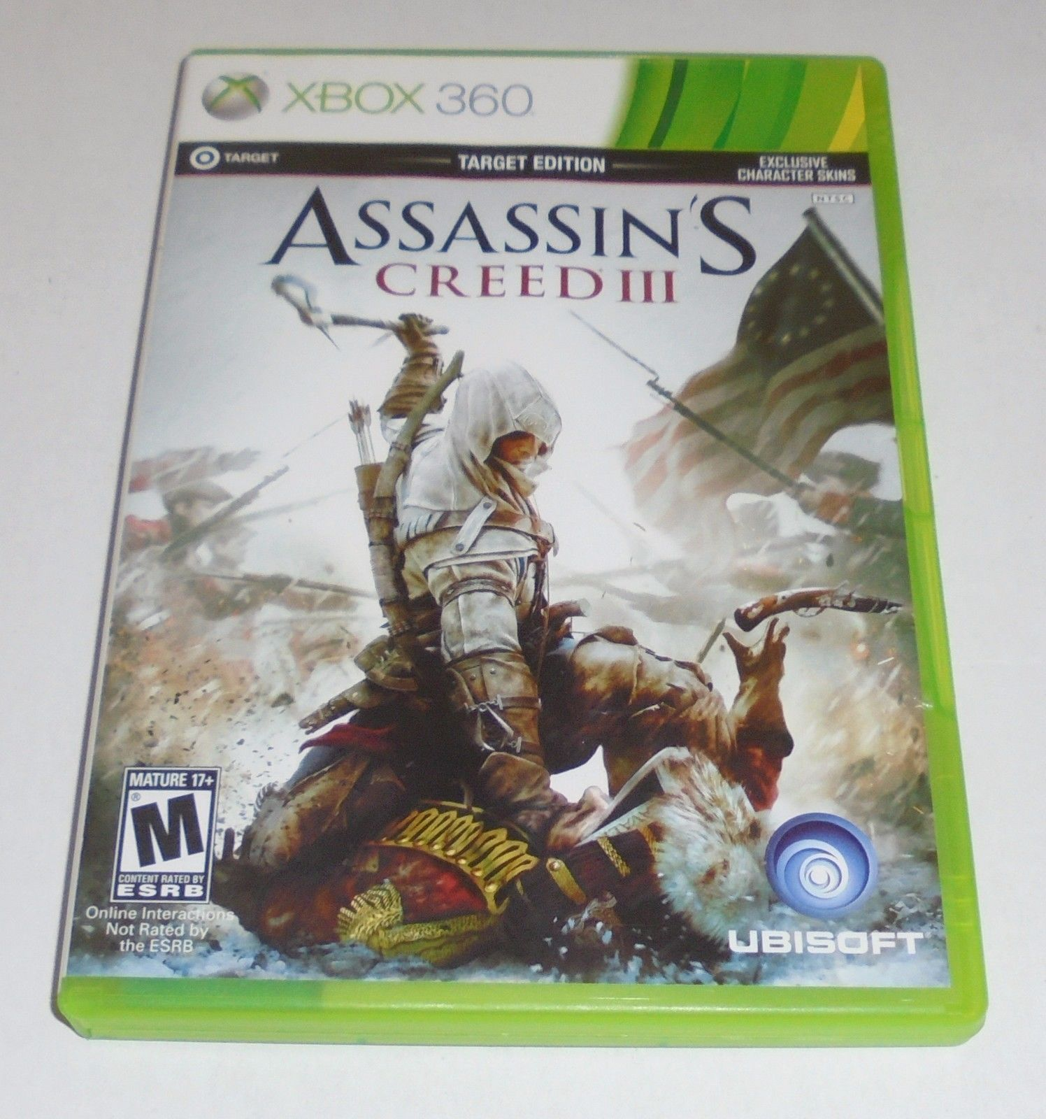 Assassin's Creed III (Microsoft Xbox 360, 2012) 2 Disc MultiPlayer Complete