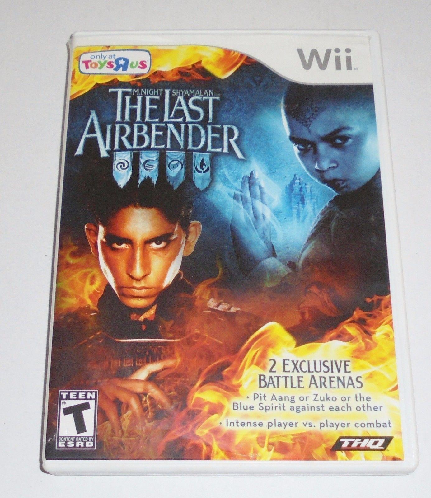 M Night Shyamalan The Last Airbender Nintendo Wii Video Game Air Bender