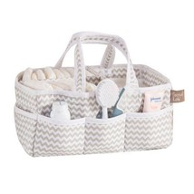 Portable Storage Caddy 8 Pocket Diapers Crafts Cosmetics Organizer Strip... - $36.75