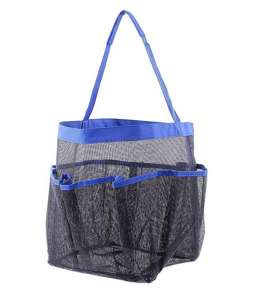 Portable Shower Bag : Portable shower caddy dorm gym mesh tote bag bath