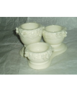 PartyLite Rose Garden Urn Tealight Trio Party Lite - $16.00