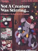 Not A Creature Was Stirring Christmas Decorations Crochet (10), Knit (2)... - $5.37