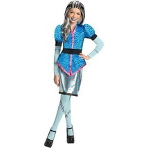 Monster High Scaris City Of Freights Frankie Stein Costume Large 10-12 B... - $27.71