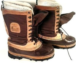 "AWESOME PAIR OF SOREL HI-ARCTIC BOOTS SIZE 7 (9"" inside) WINTER SNOW BOOTS - $45.49"