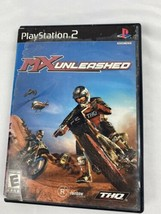 MX Unleashed Playstation 2 PS2 Video Game Complete - $9.89