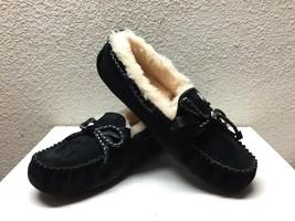 Ugg Dakota Braid Black Slippers Mocc ASIN Shoes Us 7 / Eu 38 / Uk 5.5 - Nib - $84.14